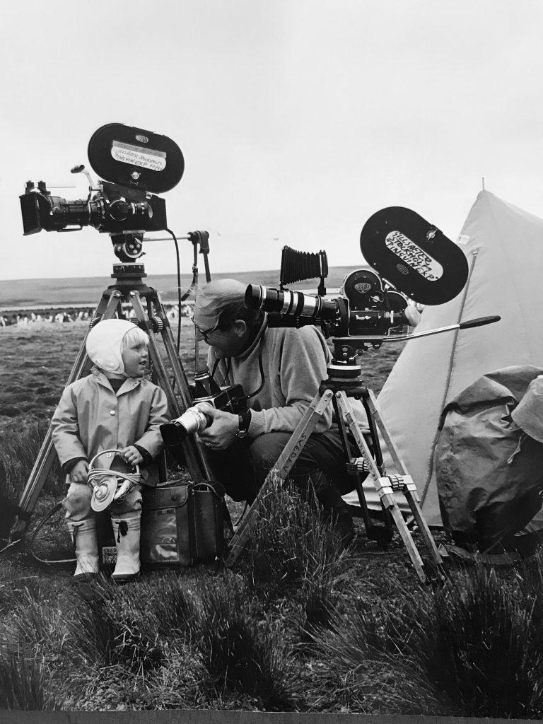 Arriflexer, Björn och Sven på Falklandsöarna 1968-69.