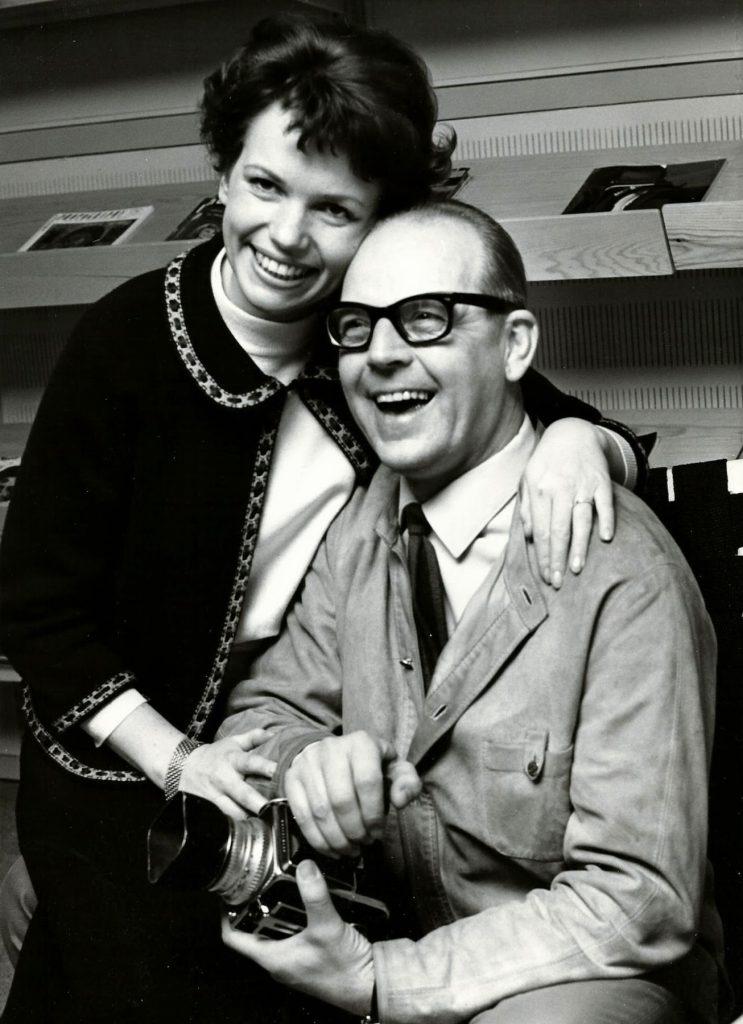 Nykära Harriet Forssell och Sven Gillsäter.