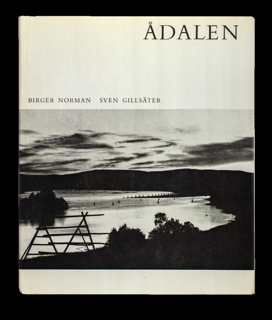 """Bild på boken """"Ådalen"""" av Sven Gillsäter (1960)"""