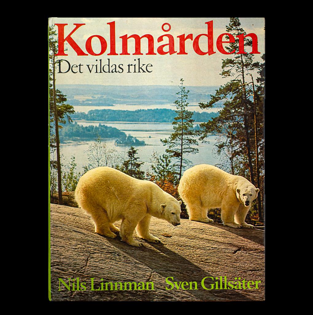 """Bild på boken """"Kolmården – De vildas rike"""", Sven Gillsäter (1971)"""