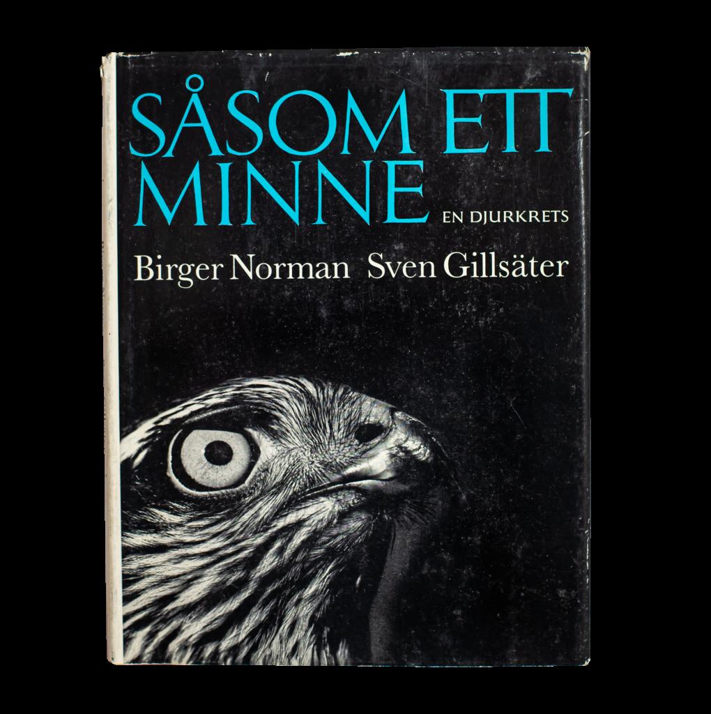 """Bild på boken """"Såsom ett minne"""", Sven Gillsäter (1965)"""